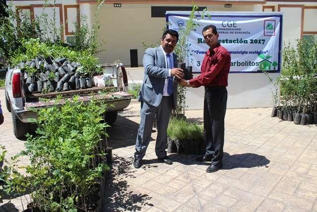 Gobierno Municipal de Lardizábal sembrará 3 mil 500 árboles