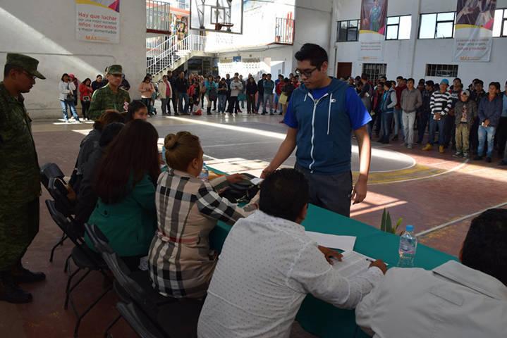 Realizarán Sorteo del Servicio Militar Nacional en Panotla