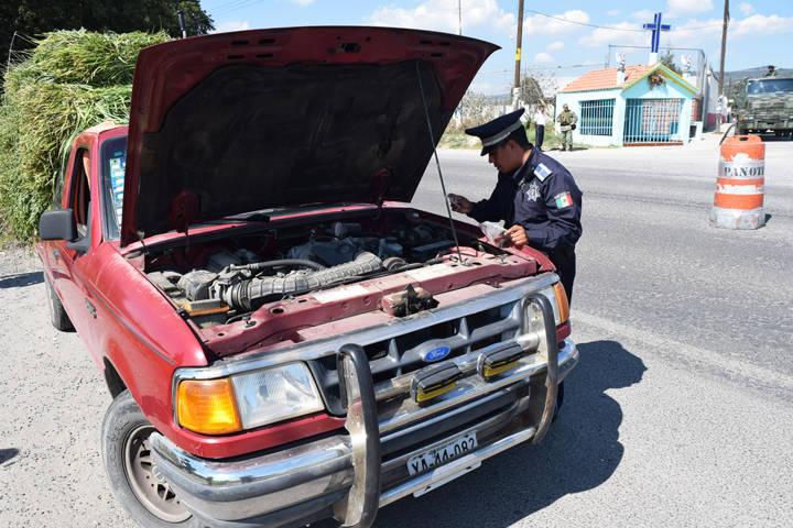 Implementan operativo 23ª Zona Militar y Seguridad Pública de Panotla