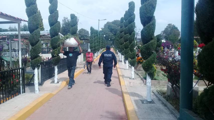 Saldo blanco reporta seguridad municipal en festividad de Día de Muertos