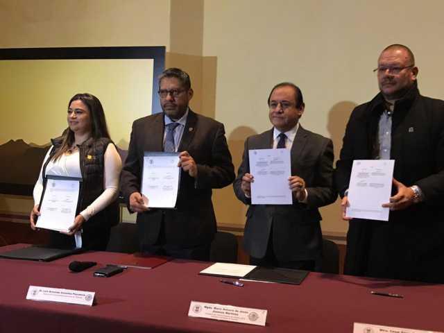 Signa Arco, Capítulo Tlaxcala, convenio de colaboración con el TSJE y la UAT