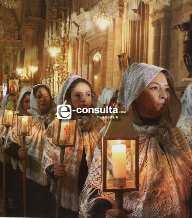 Procesión de Viernes Santo virtual en San Luis Potosí