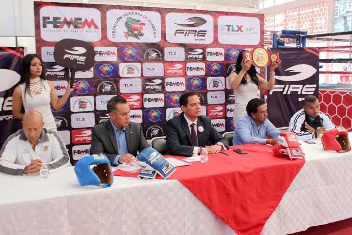 Celebran asociaciones organización de Torneo Infantil de Box