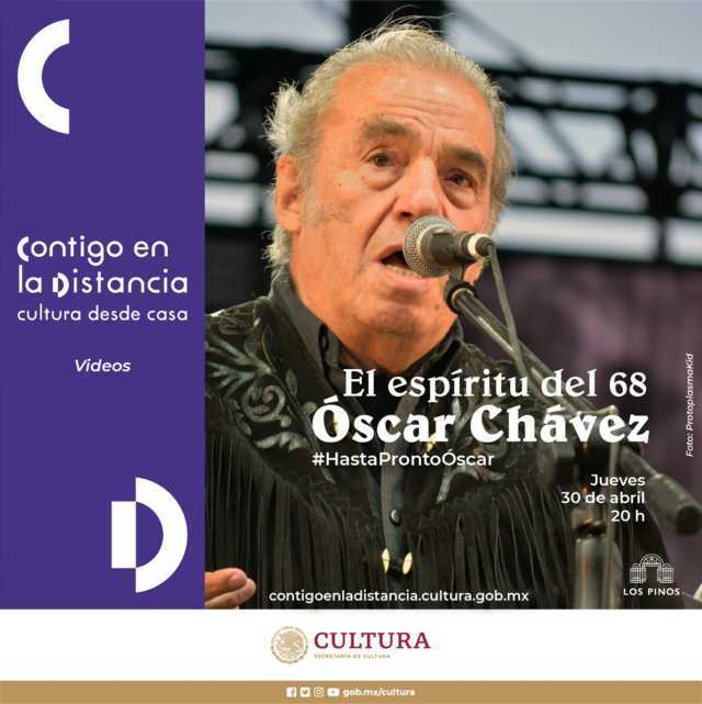 Fallece Óscar Chávez en la CDMX a causa de Coronavirus