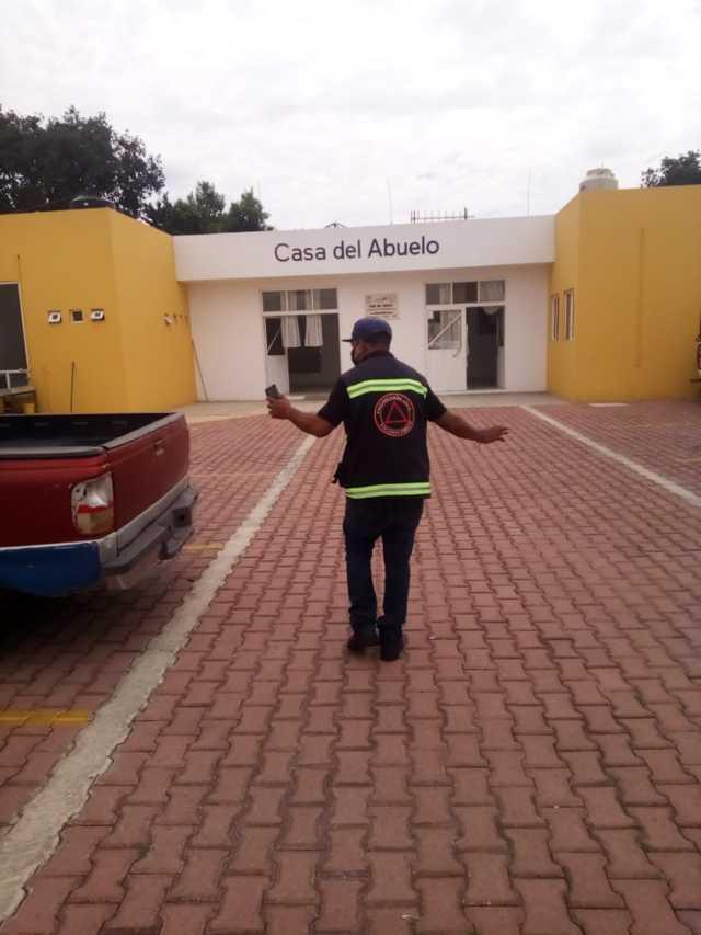 Activa Xicohtzinco protocolos de Protección Civil ante sismo de 7.5 grados