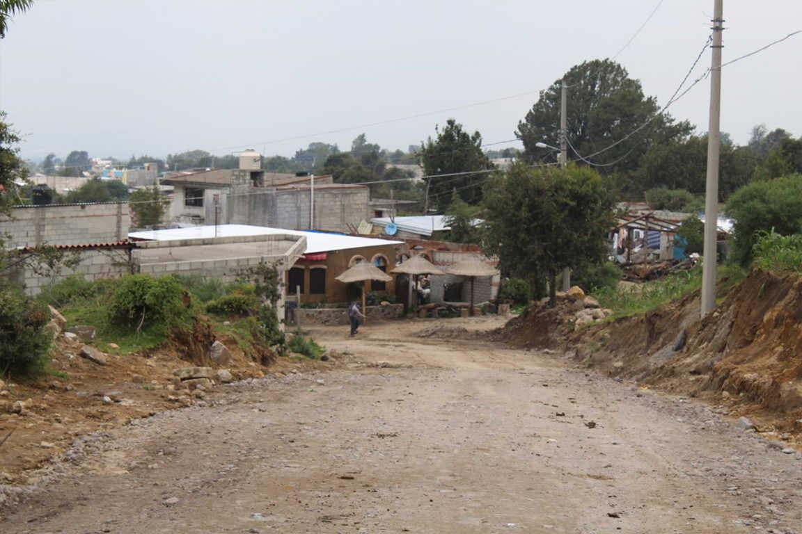 Inician trabajos de urbanización en comunidad de San Isidro Buensuceso