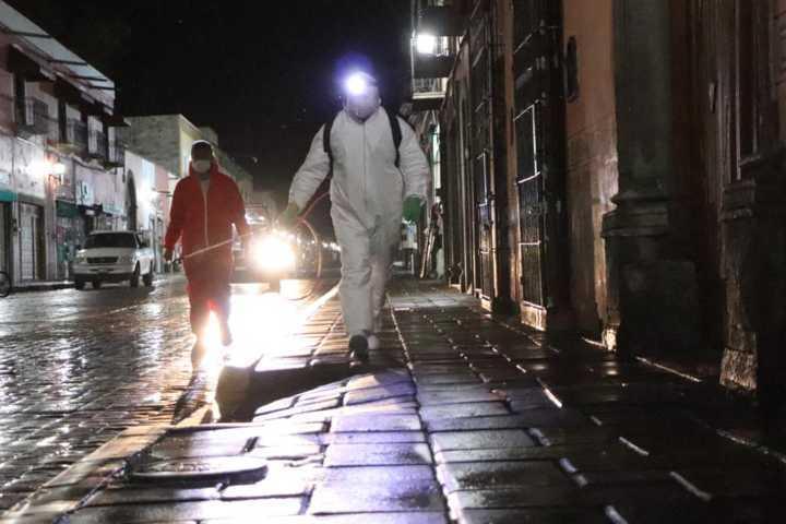 Gobierno Municipal realiza tercera jornada de sanitización