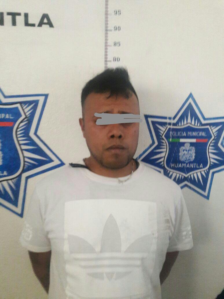 En persecución detienen a asaltantes de viviendas en Huamantla