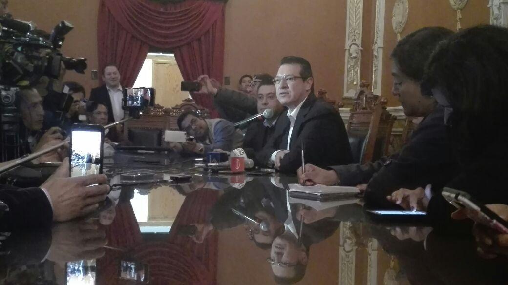 Anuncia Marco Mena Programa de Reorganización para reducir gastos