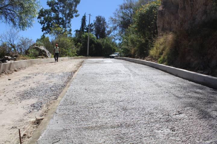 Con más obras mejoramos la infraestructura básica del municipio: alcalde
