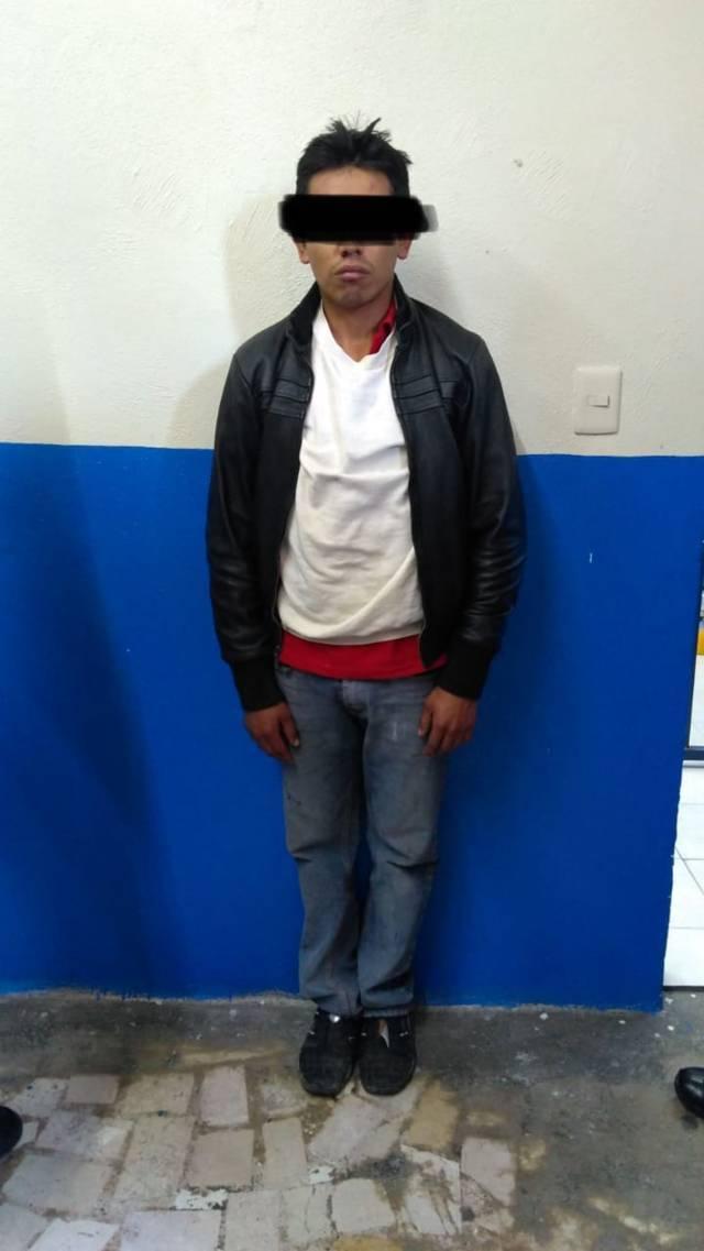 Policía de Chiautempan detiene a sujeto que realizaba llamadas falsas al 911