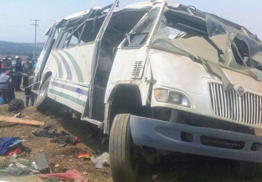 Mueren dos y 34 resultan heridos, regresaban de Texocuixpan