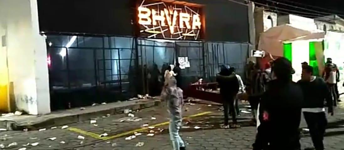 """Dan de alta a jóvenes lesionados por personal del bar """"Bhvra"""""""