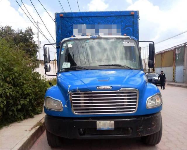 La CES recuperó en San Pablo Del Monte, un vehículo robado en Puebla