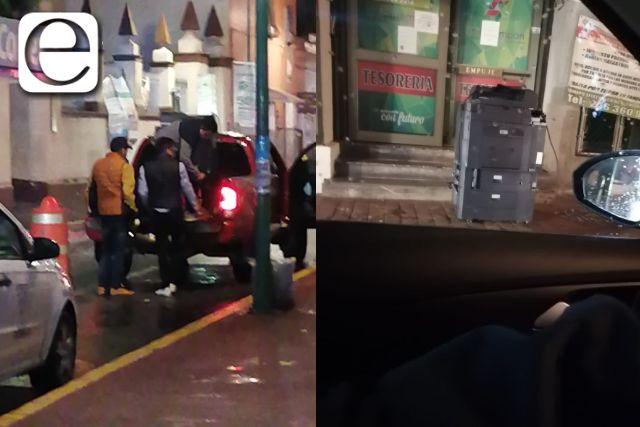 Denuncian presunto saqueo de la tesorería de Chiautempan