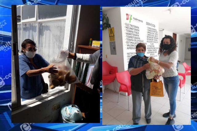 DIF Huamantla mantiene entrega de apoyos a familias de escasos recursos