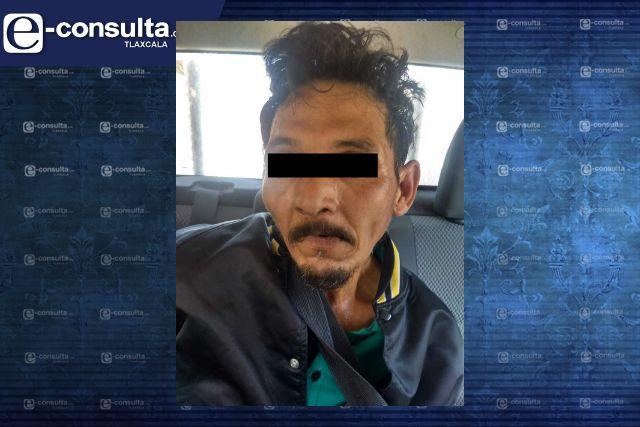 Captura policía de Xicohtzinco a presunto asaltante