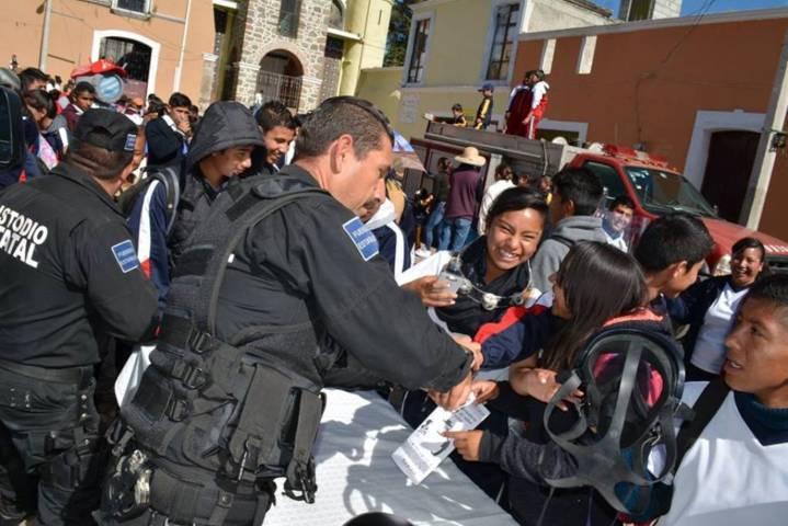 Clausura la CES semana de prevención del delito en Nanacamilpa