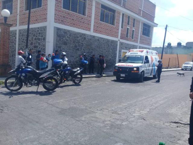 Abandonan a recién nacida en Apizaco, paramédicos la rescatan