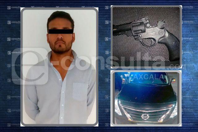 Aseguran una persona y recupera una unidad del servicio público de Puebla