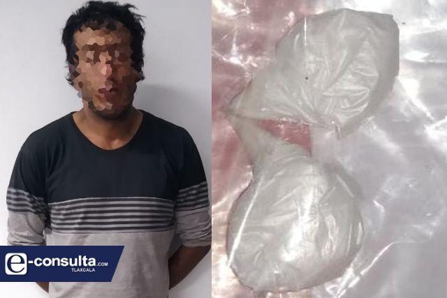 La SSC detiene en Calpulalpan a una persona con droga