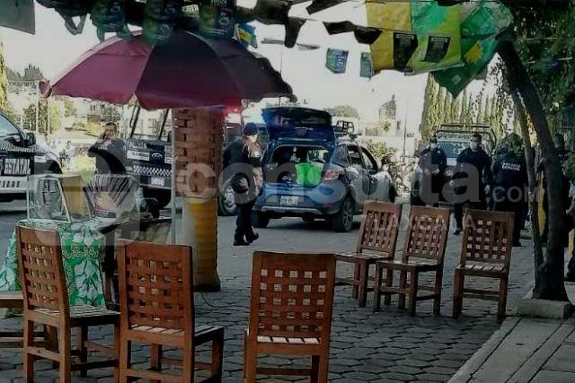 Cuatro hampones son detenidos en SPM luego de asaltar en Tlaltelulco