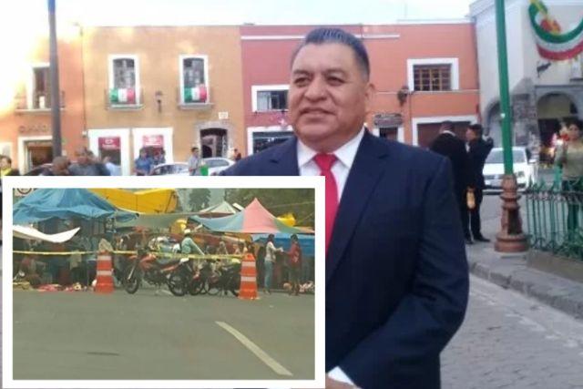 Alcalde amoroso se burla del COVID y consciente la instalación del tianguis