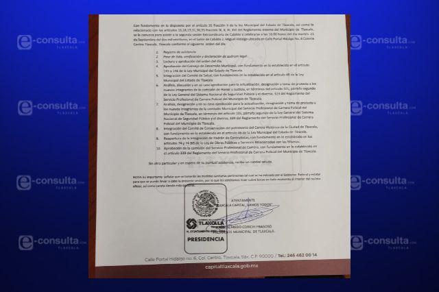 Ensoberbecido el alcalde Jorge Corichi convoca a Cabildo
