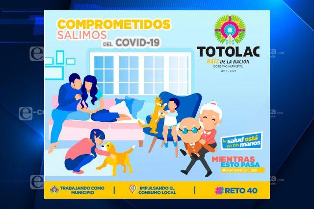 Comprometidos salimos del Covid-19, lanza campaña de concientización  Totolac