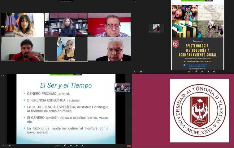 Hablan en la UATx sobre el acompañamiento social durante el confinamiento