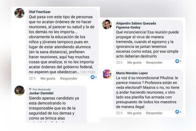 Tunden en redes sociales a candidato tramposo del SNTE
