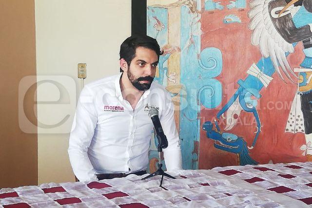 Atollini propone su propia estrategia para elegir al nuevo dirigente de Morena