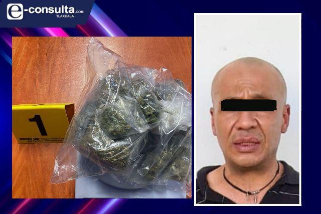La SSC detiene en Tlapancalco a una persona por posesión de enervantes