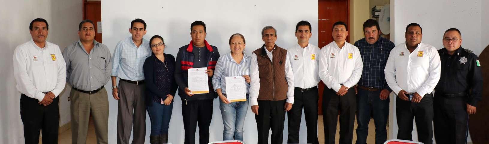 Firma convenio Texoloc para protección integral de niños y adolescentes