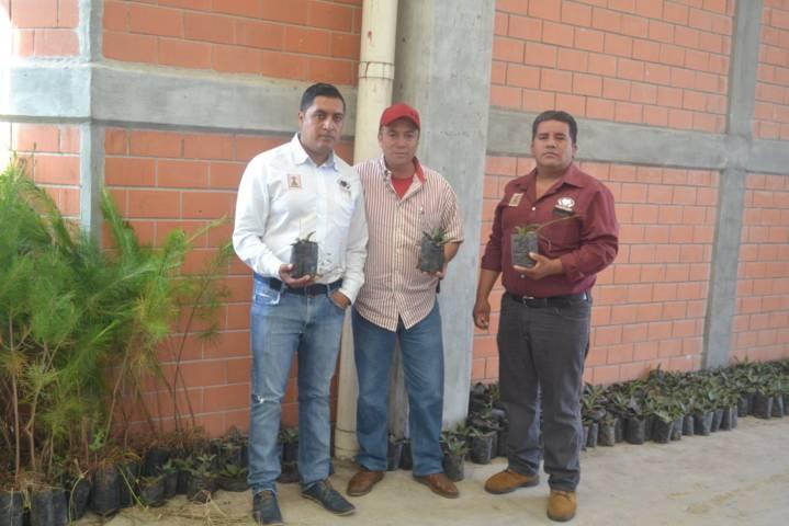 Ayuntamiento entrega plantas y magueyes a ciudadanos