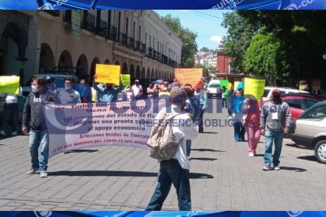Artesanos piden respaldo económico para enfrentar la emergencia sanitaria