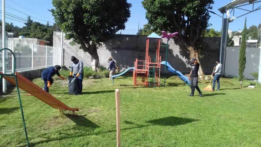 Proyecto muralista, formará parte de la rehabilitación de espacios públicos y deportivos
