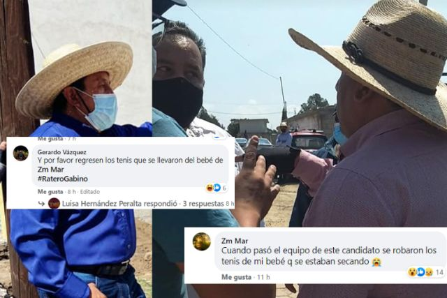 Candidato de Santa Cruz Tlaxcala del PS lo tachan de trácala e intolerante