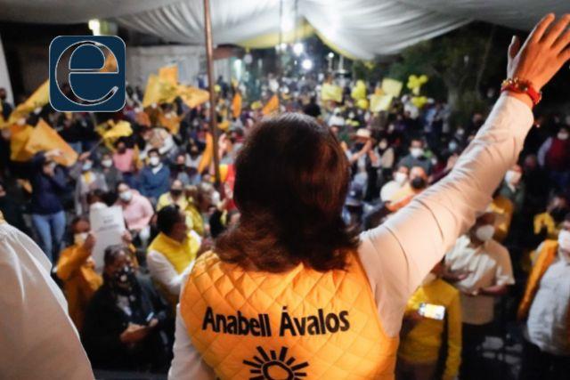 A un mes de campaña nuestro crecimiento es imparable: Anabell Ávalos