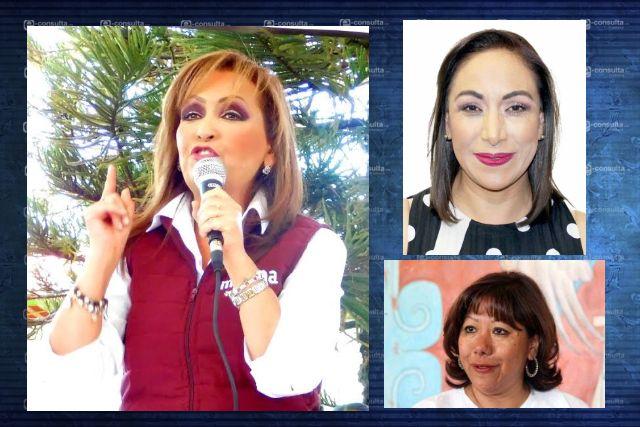 Otra vez Lorena Cuéllar lidera encuesta para candidatura de MORENA