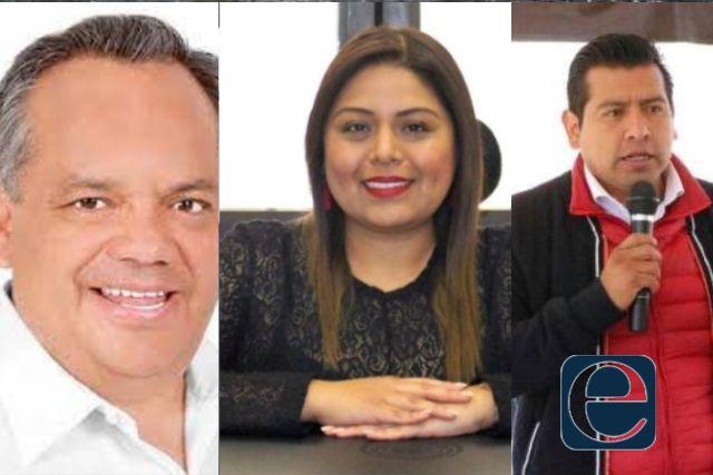 Aguilar, Irma Garay y Carlos Augusto tienen un pie en el Congreso de la Unión