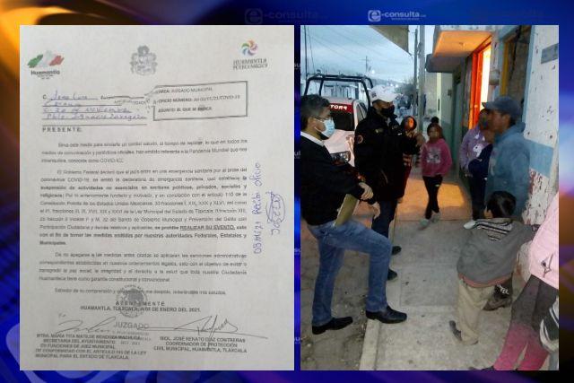 Huamantla mantiene vigentes medidas para evitar la propagación del Covid