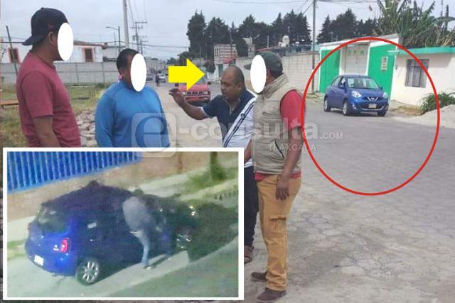 Normalistas se divierten con funcionario de Panotla, se fueron Acapulco