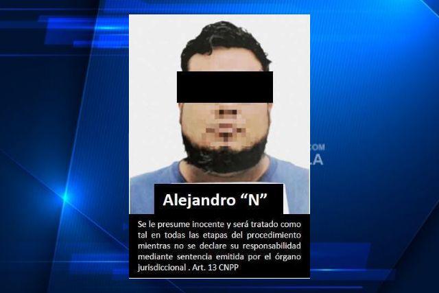 """Por portación de arma de fuego vinculan a proceso a  Alejandro """"N"""""""