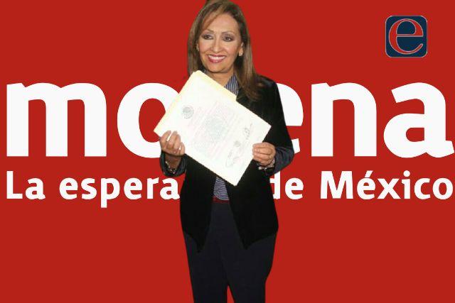 Lorena Cuéllar recibe su constancia como gobernadora electa de Tlaxcala