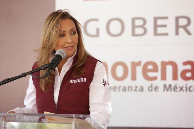 Lorena Cuéllar asume compromisos con los jóvenes del estado de Tlaxcala