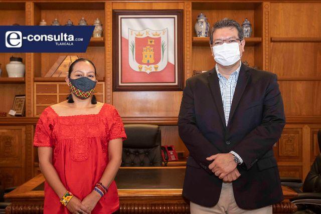 Marco Mena y Luisa Albores dan seguimiento a trabajo de protección al ambiente