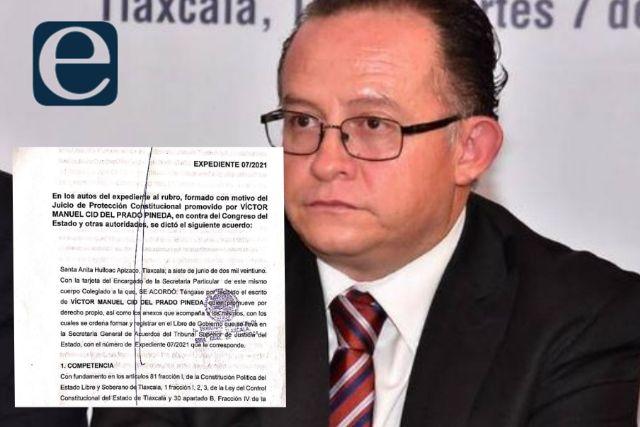 Frenan la revocación de Víctor Manuel Cid en la CEDHT; heredan el problema
