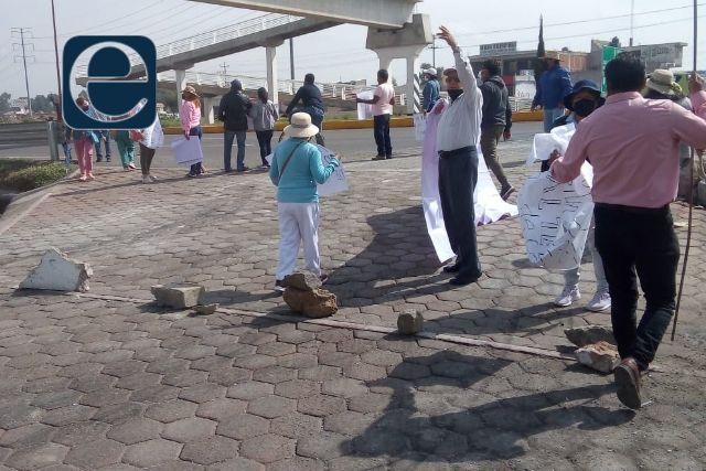 Pobladores de Tetela se oponen a votar por las autoridades de Chiautempan