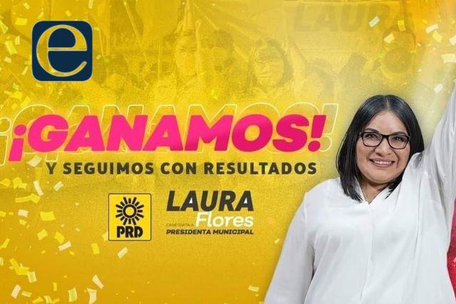 Benito Juárez tendrá presidenta, gana Laura Flores la alcaldía